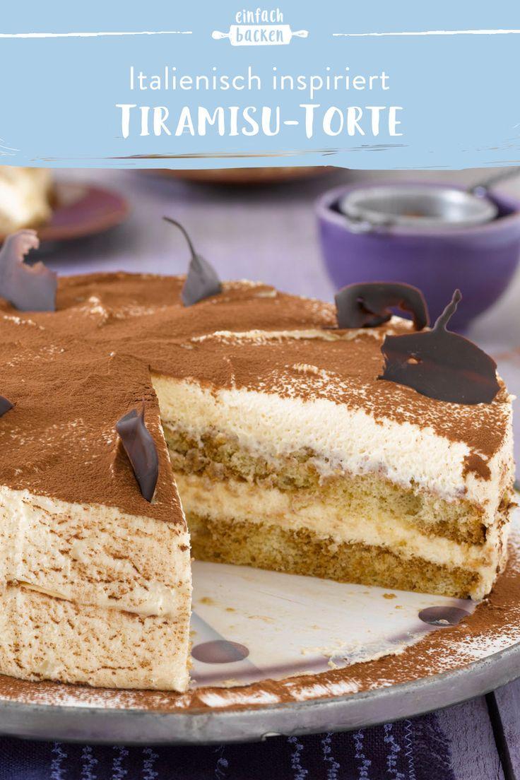 Cremiger Tiramisu-Kuchen   – Torten-Rezepte – Die schönsten & leckersten Torten