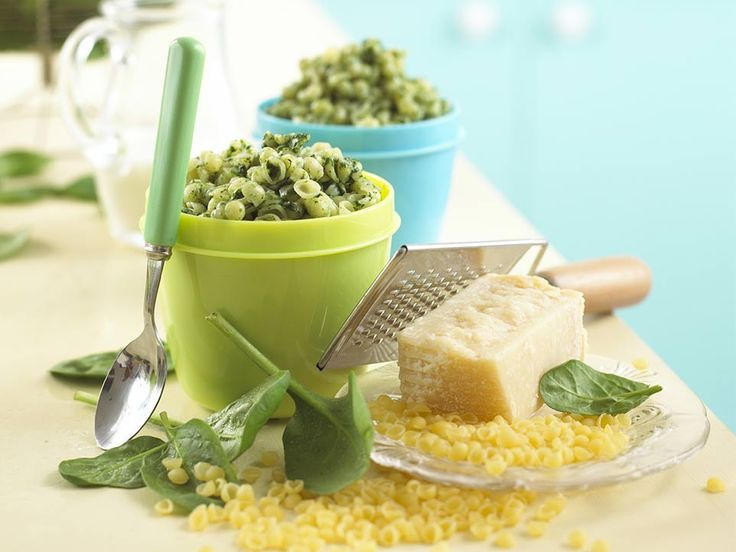 This is a really tasty baby pasta recipe to make if you want to introduce your baby to spinach. Mixing tiny baby pasta shapes into your baby