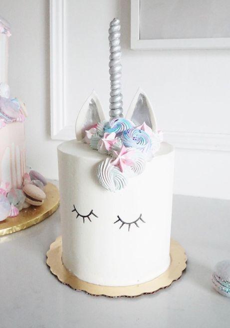 Einhorntorte - Unicorn Cake