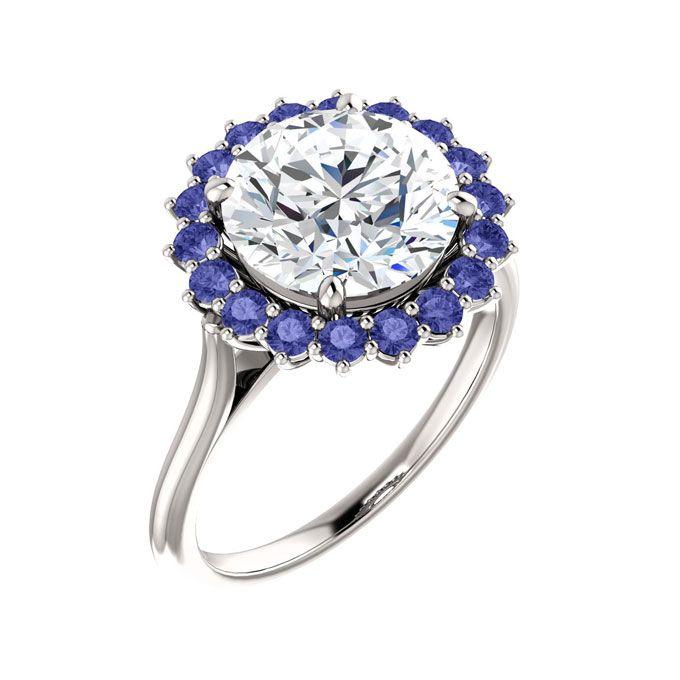 Beautiful Tanzanite: 138 Best Tanzanite Engagement Rings Images On Pinterest