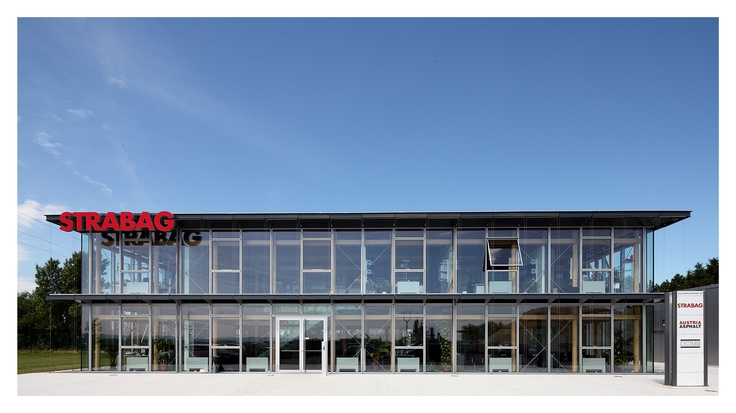 STRABAG office building Hausleiten (Lower Austria), front view
