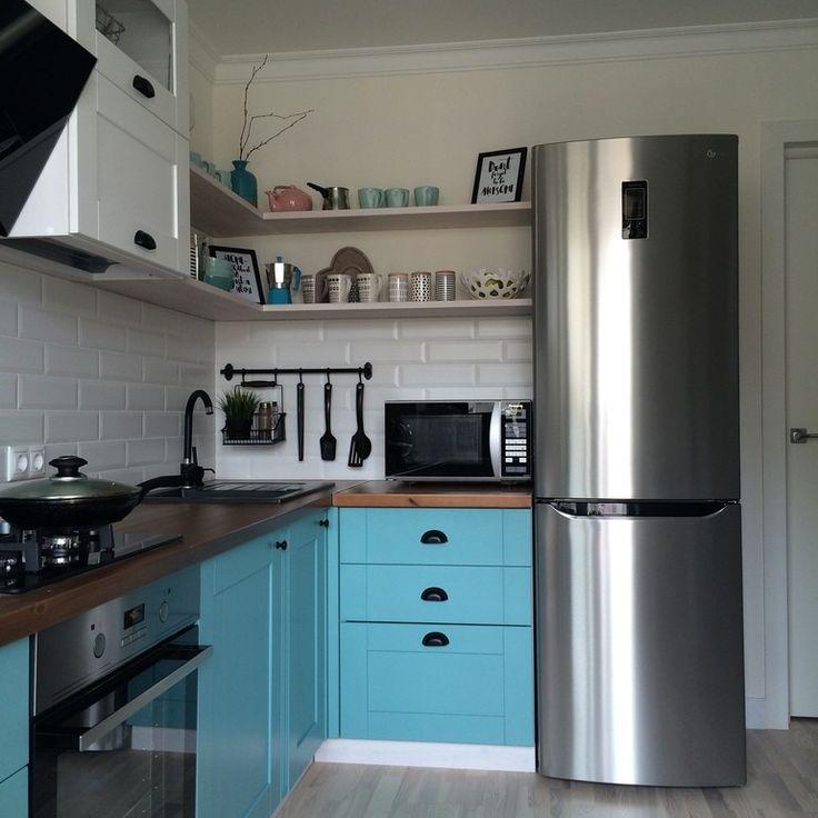 как лучше установить холодильник на кухне фото белоручка