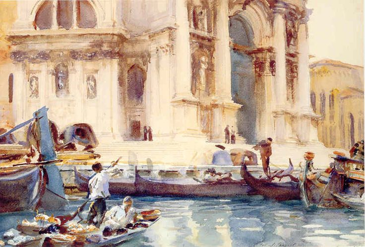 John Singer Sargent, watercolours