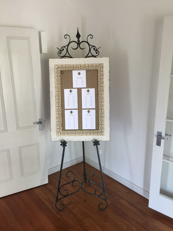 Our new easel board