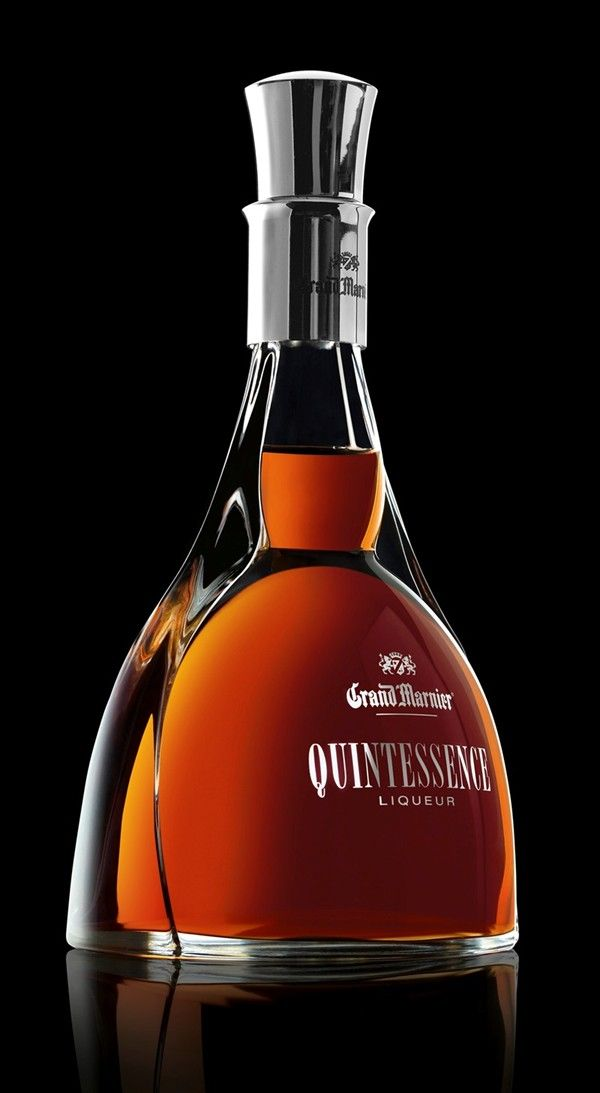 Grand Marnier Quintessence 1 - Love the uniqueness of this bottle.