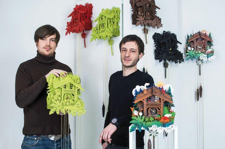 Alexandre Gaillard et Martino D'Esposito ont lancé Swisskoo. © François Wavre / Rezo