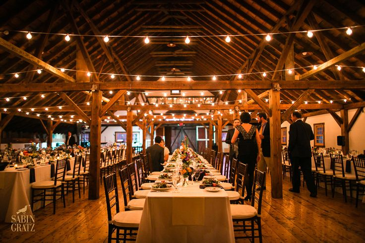 A vermont winter wedding wonderland dinner in the brown for Wedding venues open late