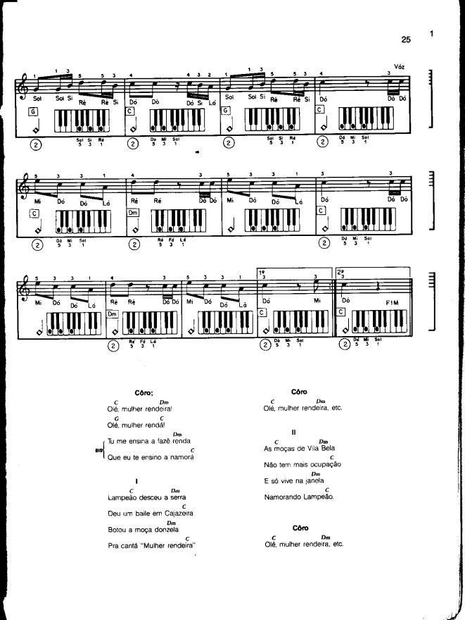 Arquivo Piano (Mário Mascarenhas).pdf enviado por Felipe no curso de Engenharia de Produção na PUC-Rio. Sobre: Método prático de piano popular, por Mário Mascarenhas.