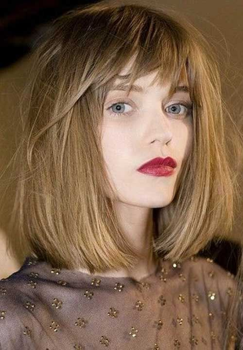 Bob Hairstyles With Bangs | The Best Short Hairstyles for Women 2015