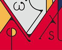Futuristic typeface echoes art nouveau designs   Webdesigner Depot