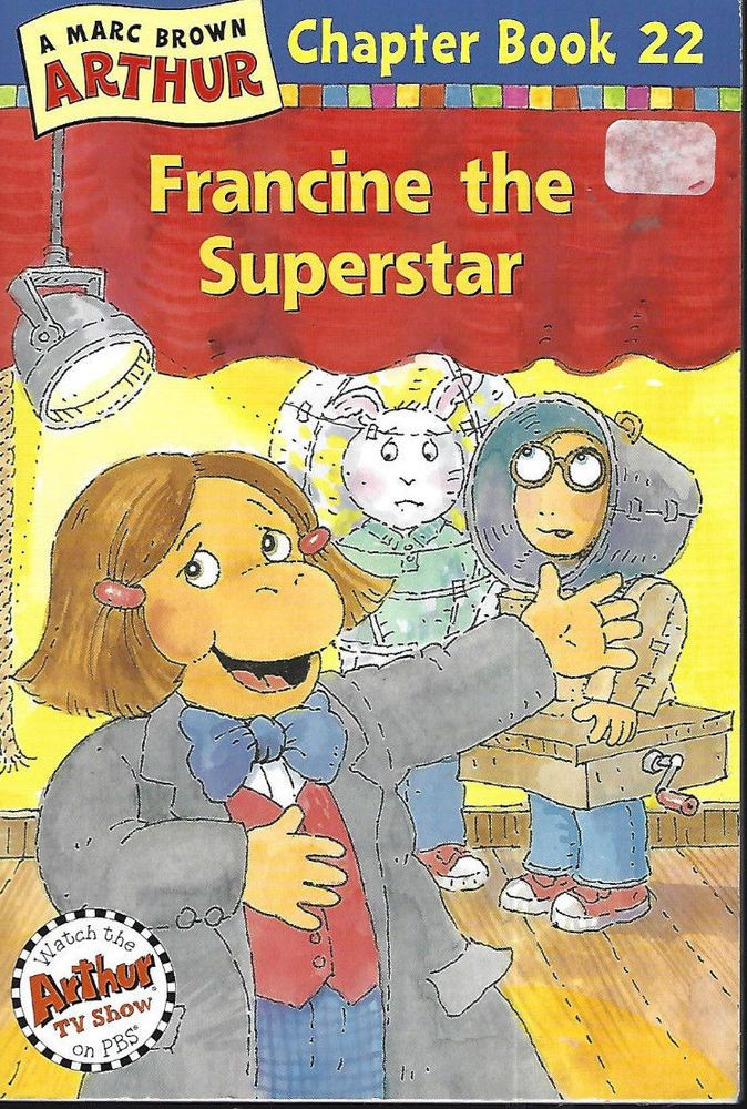 Francine the Superstar: A Marc Brown Arthur Chapter Book 22 Chapter Book  | eBay