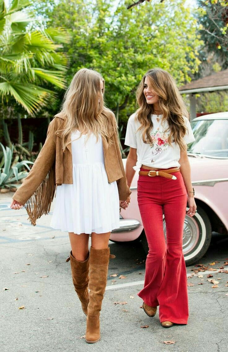 cf4d00719 boot flared colored pants😍😍   T.I.N   Fashion, 70s fashion, Style