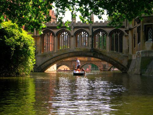 Punting on the Cam.  I do miss England...