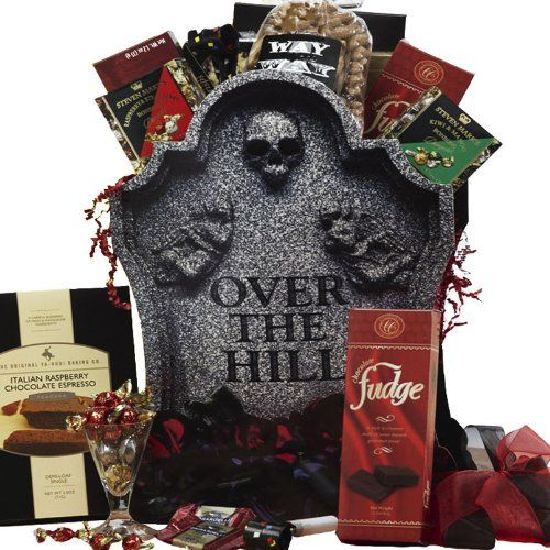 50th Birthday Gift Basket For Men: 17 Best Images About Over The Hill Gift Ideas On Pinterest