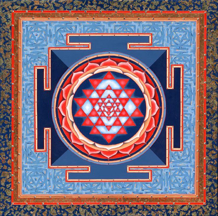shri vidya yantra