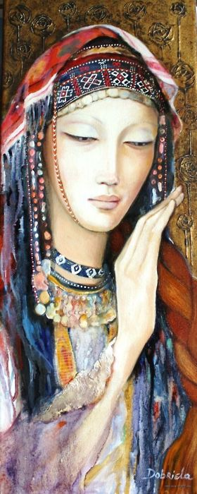By Dobriela Kovea...titled..Bulgarian Girl