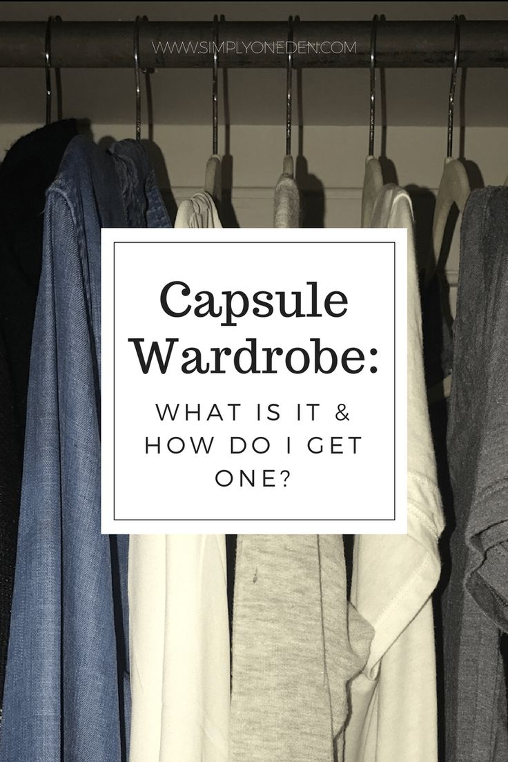 Capsule Wardrobe: what is it and how do I get one?