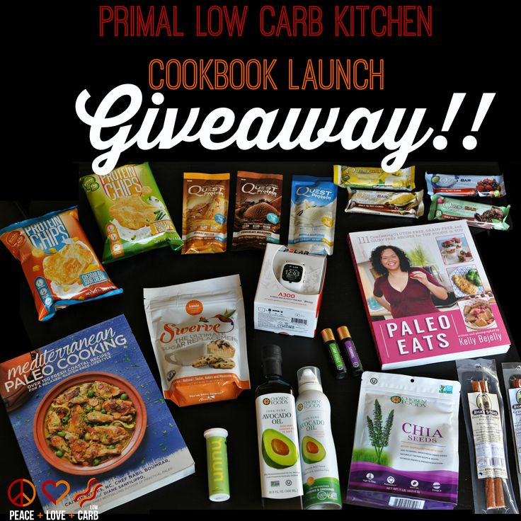 PRIMAL LOW CARB KITCHEN COOKBOOK LAUNCH GIVEAWAY!!!