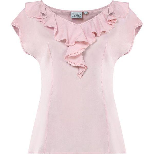 Модные женские блузки: белые, цветные и с принтом   Купить блузку в... via Polyvore