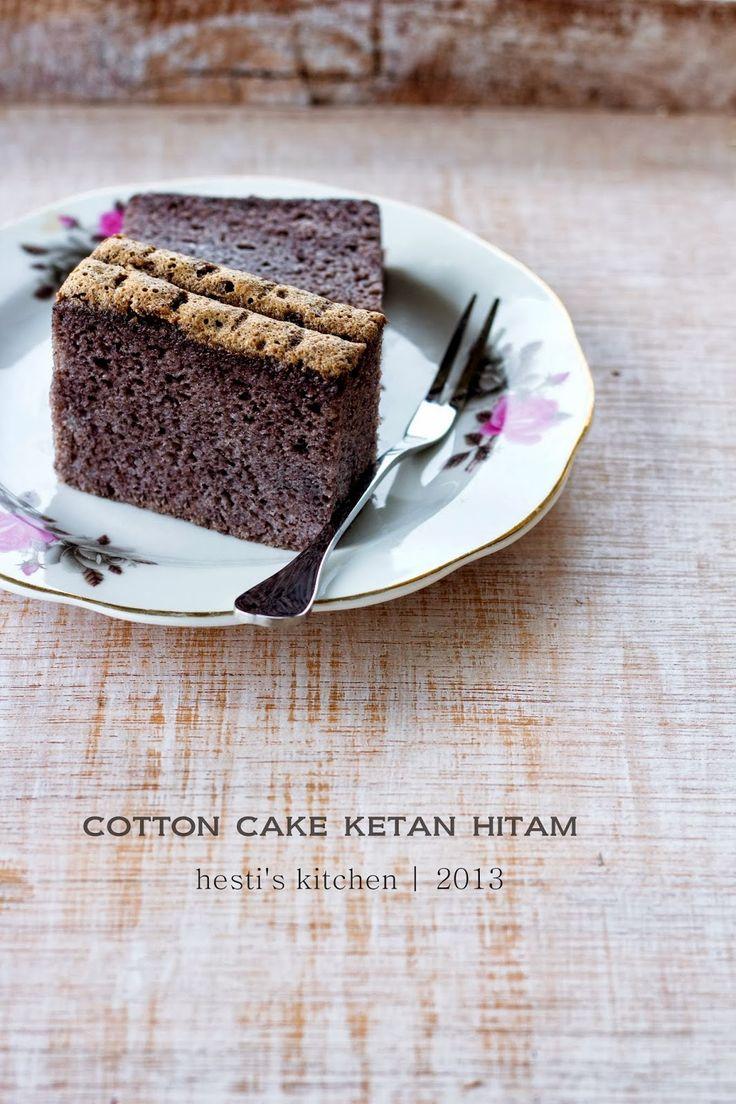 : Cotton Cake Ketan Hitam