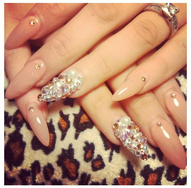 Nude color nail designs gallery nail art and nail design ideas nude color nail designs choice image nail art and nail design ideas 100 best prom nails prinsesfo Choice Image