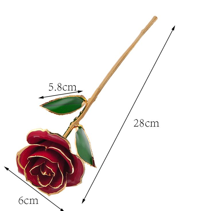 ==> [Free Shipping] Buy Best love forever Long Stem Dipped 24k Gold Foil Trim Rose Best Gift for Valentine's Day Mother's Day Anniversary Birthday Gift Online with LOWEST Price | 32794080069