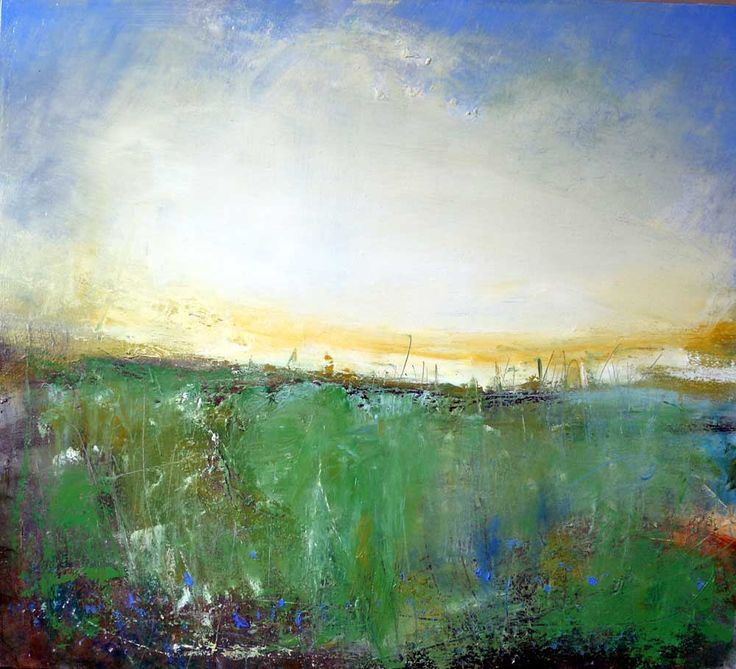 Wild Flowers and Bright Sky, St. Just by chrishankey on Etsy