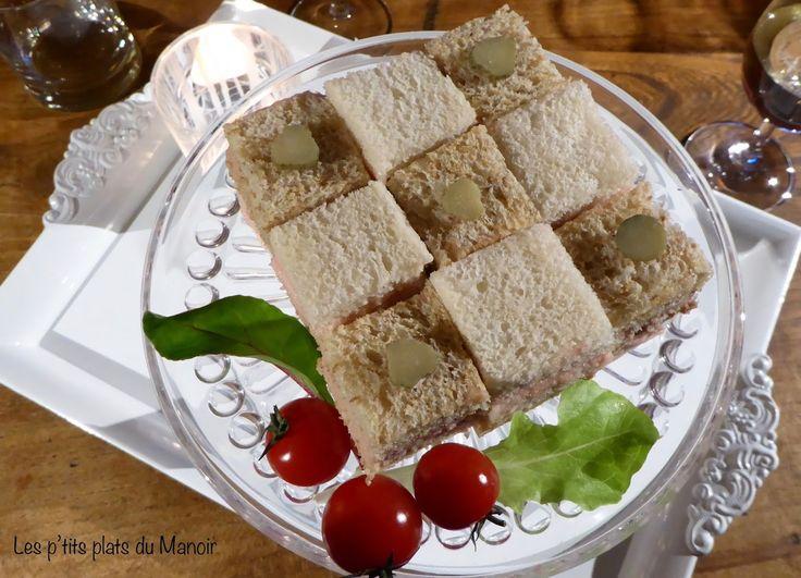 Une idée de présentation des toasts pour vos apéritifs des prochaines fêtes.  Celle ci s'adapte à vos goûts et très facilement à votre nomb...