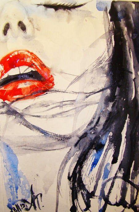Belas pinturas de Anna Dart