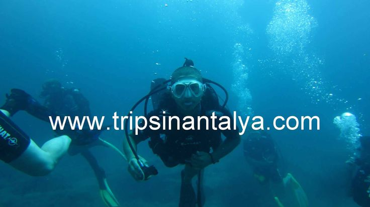 Alanya Scuba Diving is usually bought from guests who dive their first time in life. After the registration process our guests meet their instructors for diving. On the boat the first intructions will be given about dive. Learn how you breathe underwater, underwater communication signs, underwater swimming techniques