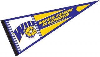 Western Illinois University College Pennant