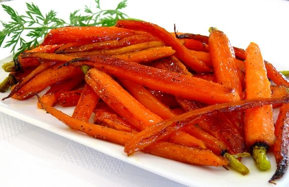 Maple Pan-Roasted Baby Carrots | Recipes | Pinterest