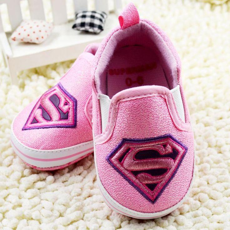 Cartoon Totem Baby Shoes 2016 Superman Boy Girls Toddler Shoes Batman Infants Shoes Babies Sneakers 105