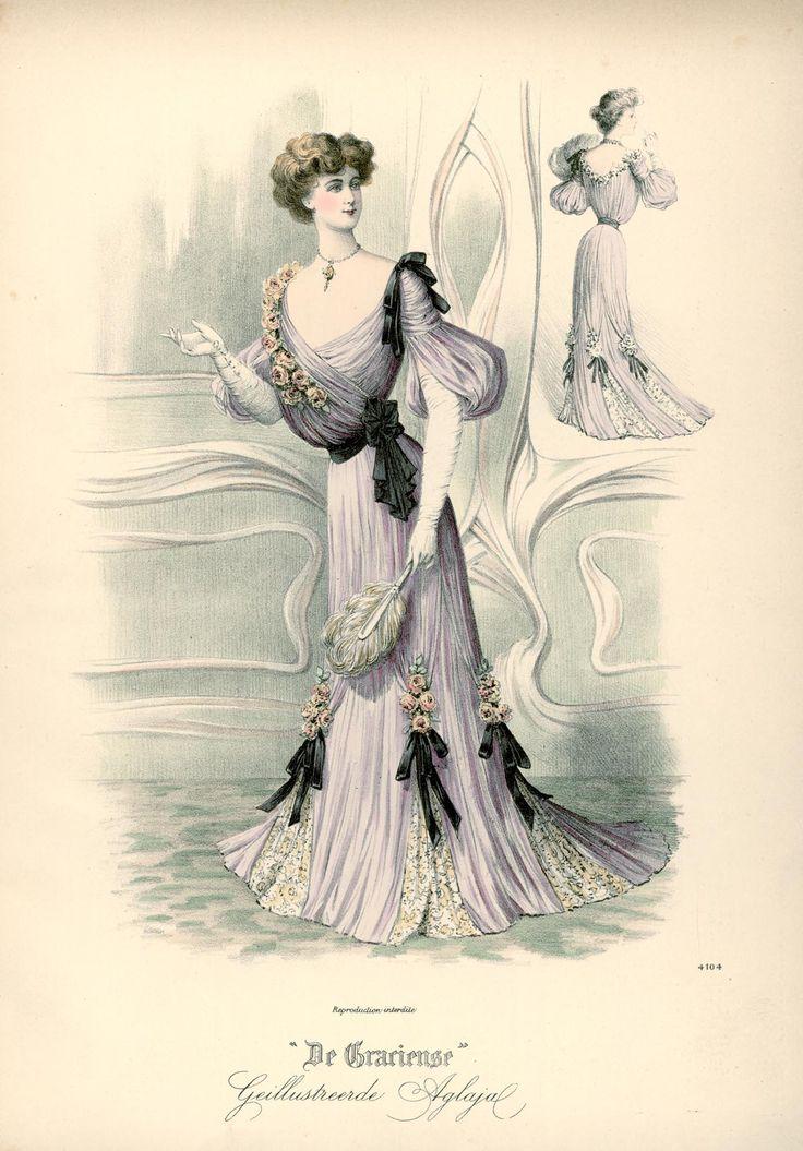 [De Gracieuse] Baltoilet (December 1902)