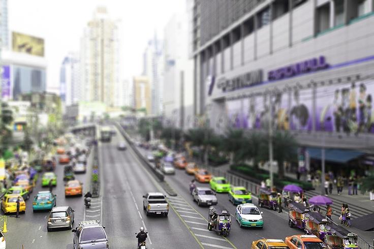 Bangkok, Thailand #tiltandshift