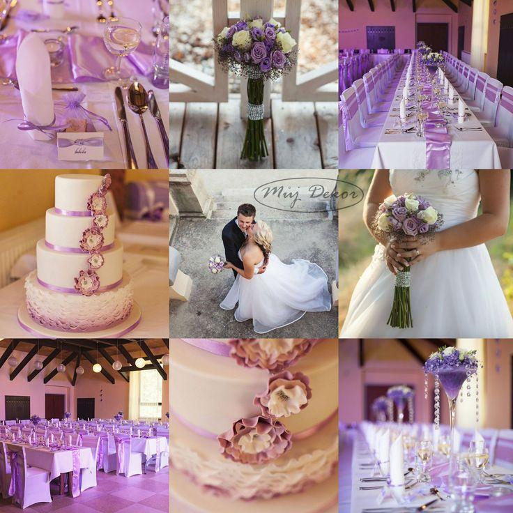 Fialová svatba