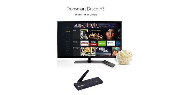Looking for a #smartTV experience on a budget?   Check out the #Tronsmart Draco H3 Wireless #4K #AndroidSmartTV Stick. Equipped with 1GB RAM, 8GB ROM, #HDMI, Full 4K, #Bluetooth 4.0, WiFi, #OTG, #DLNA, and #Miracast, it is build for a powerful performance.  Running #XBMC (#Kodi), it can be used to #streamfree online content, access #Netflix, play games, and even be used as a #miniPC.  Buy here: https://www.ooberpad.com/products/tronsmart-draco-h3-4k-android-smart-tv-stick