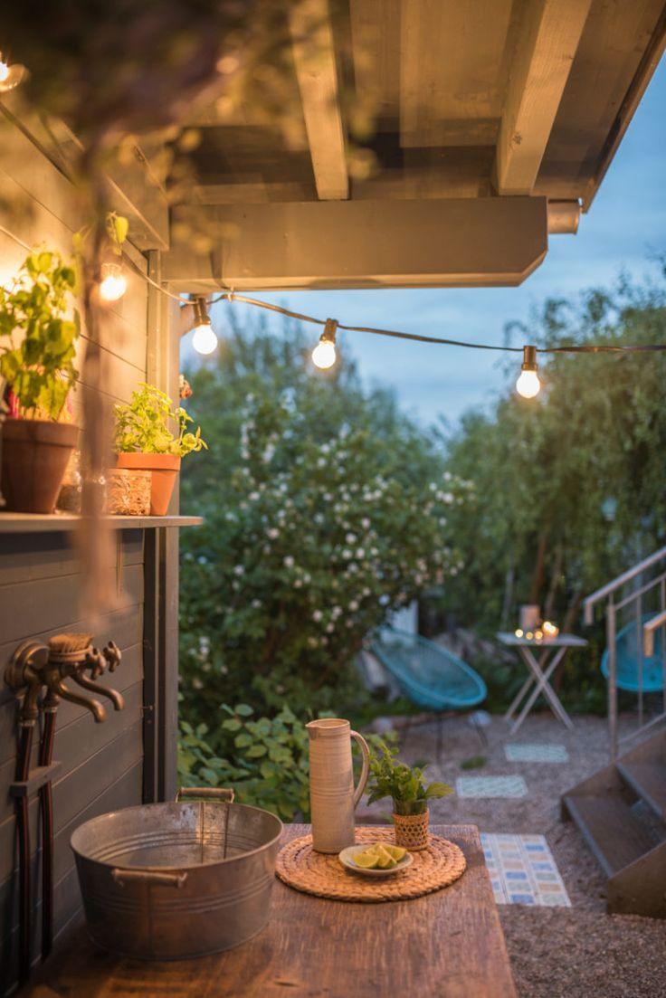 Diy Terrassen Makeover Vorher Nachher Teil 2 Leelah Loves Garten Terrasse Holzgitter Terrasse Holz