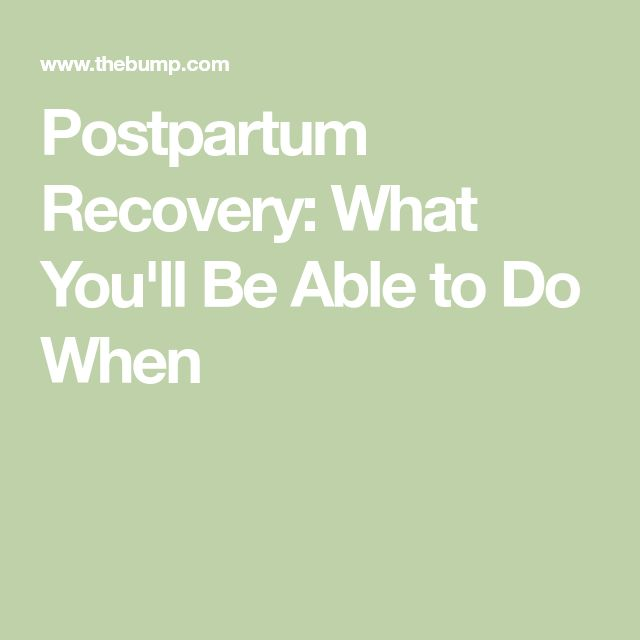 The  Best Postpartum Recovery Ideas On   Post