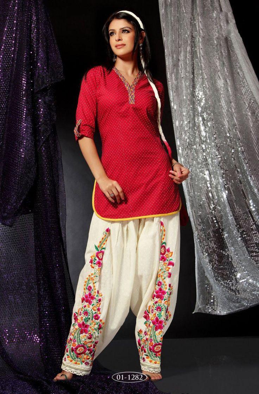 Patiala Salwar Kameez - love the pants!