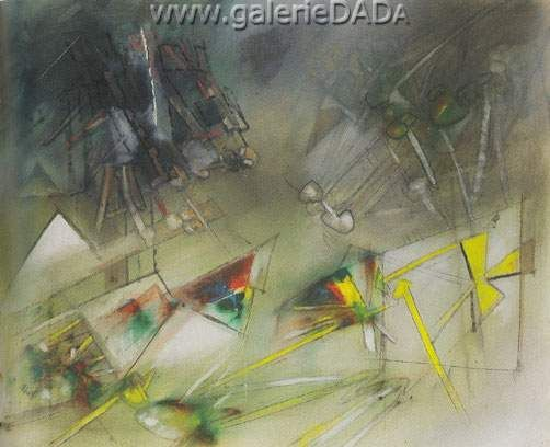 Roberto Matta,  Scie le Desir Fine Art Reproduction Oil Painting