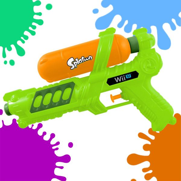 Cool off this summer by hosting a Splatoon-style water fight! Whether you use water or something a little more colorful – nothing can stop you from soaking the household to control the battlefield. Except maybe your parents.