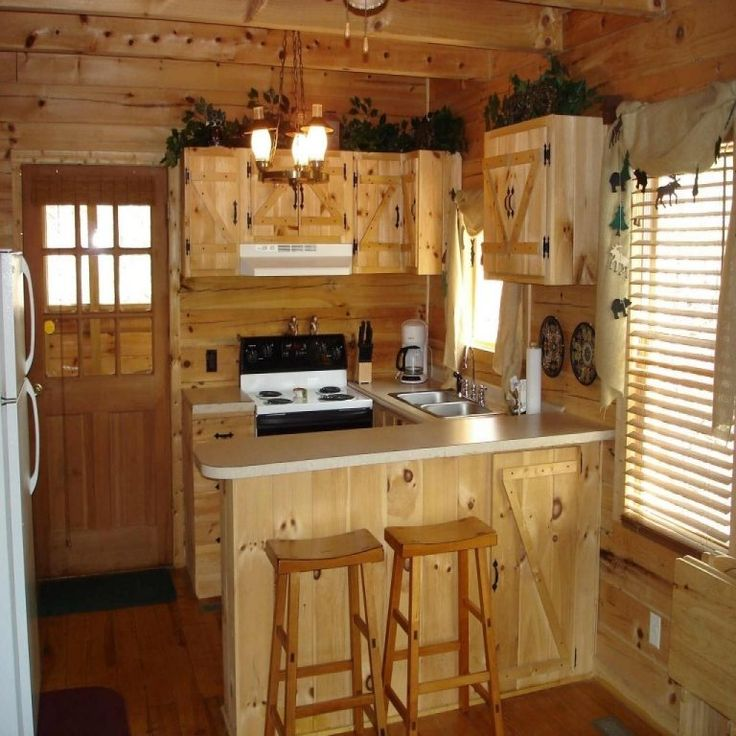Small Rustic Cabin Kitchens The Image Kid Has It