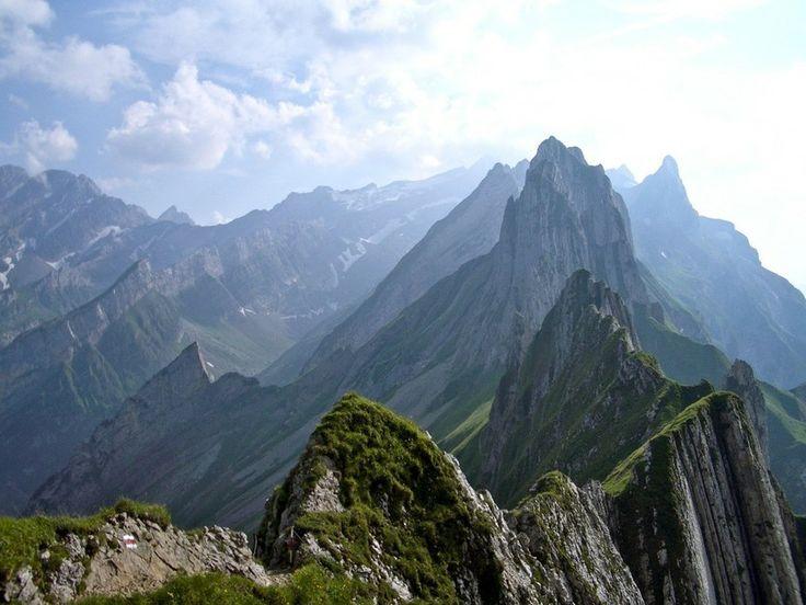 Wanderung zum Schäfler, Appenzell