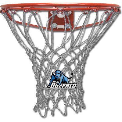 Krazy Netz Buffalo University Basketball Net Silver - KNC7800, Durable