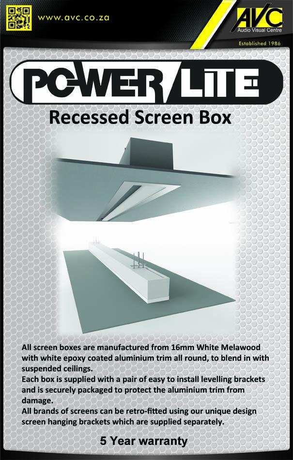Powerlite Recess Boxes