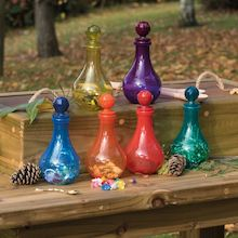 Plastic Messy Play Potion Bottles
