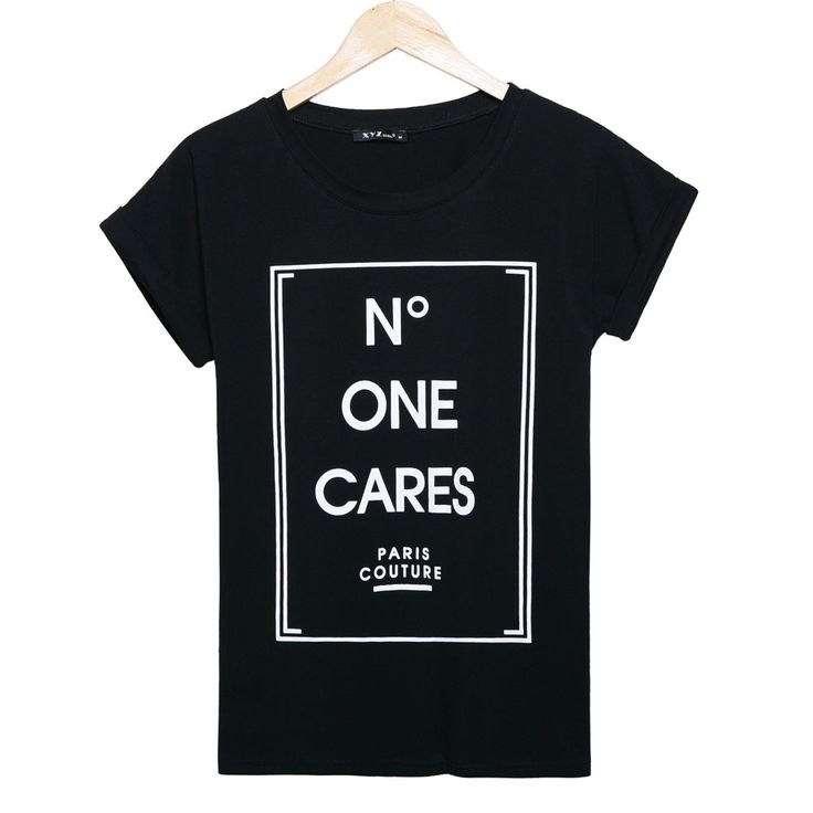 2015 fashion brand t shirt women N DEGREE ONE CARES printed t-shirt summer short sleeve causal plus size tees women woman tops
