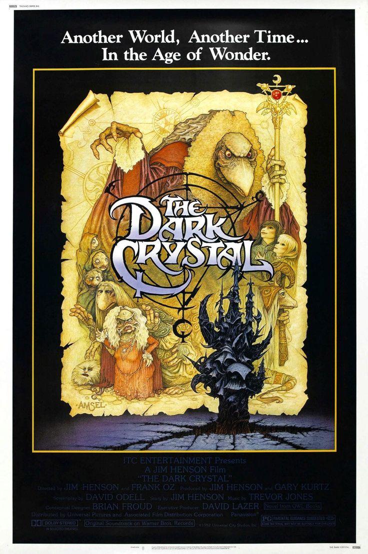 """The Dark Crystal"" > 1982 > Directed by: Jim Henson & Frank Oz > Fantasy / Children's Family / Fantasy Adventure / Children's Fantasy / Puppets / Adventure"