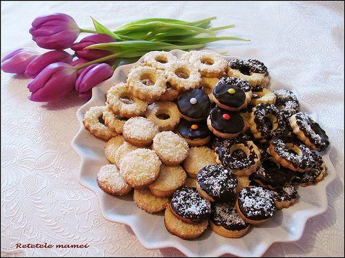 Fursecuri cu vanilie și ciocolată